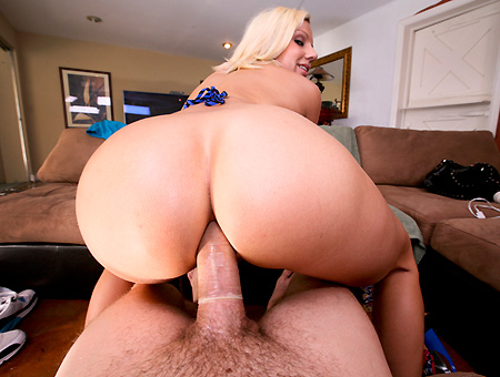 Big ass for a white girl